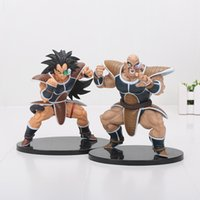 Wholesale Dragonball Figures - Dragon Ball Z Resurrection Of F 15CM Dragonball Z Styling God Super Saiyan Raditz nappa Action Figure Toy