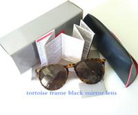 óculos redondos venda por atacado-TOP QUALITY homens mulheres óculos de sol 4171 alta rua óculos de sol erika proteção uv400 popular forma redonda óculos de sol POLARIZED designer