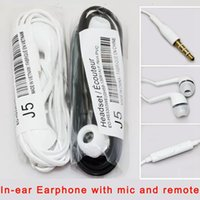 Wholesale S3 Black - In-ear Earphone Stereo Headset Headphone With Wire Remote Volume Control Microphone Earbud For Samsung s3 s4 s5 s6 s7 edge note3 4 5
