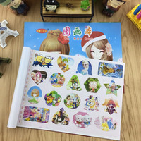 Wholesale Magnetic Notepads Wholesale - 20 pieces to sell Cartoon drawing paper 16K Children painting Write Exercise book School supplies Christmas present
