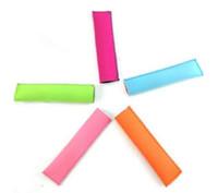 Wholesale Kids Kitchen Wholesale - Popsicle Holders Pop Ice Sleeves Freezer Pop Holders 15x4.2cm for Kids Summer Kitchen Tools 10 color