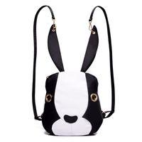 Wholesale Cheap Designer Travel Bags - Cheap Korean Bunny Women Backpack 2017 Waterproof Cute School Bags For Teenage Girls Designer Ladies Travel Back Pack Female Bag