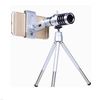 Wholesale 12 Times Mobile Phone Lens X Universal Telephoto Lens Telephoto Lens For Universal Mobile Phone