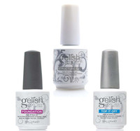 Wholesale Gel Uv Led Clear - Harmony Gelish Nail Polish STRUCURE GEL Soak off Clear Nail gel LED UV Gel Polish TOP it off and Foundation nail art frence nails