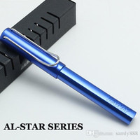 Wholesale lamy pen for sale - Group buy AL STAR SERIES Xmas gift Lamy Rollerball Pen office supplies stationery writing pens with retail gift box roller ball pen