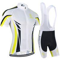 camisas rápidas rápidas venda por atacado-BXIO Marca Ciclismo Jerseys Motociclista Fresco Desgaste Roupa Rápida Seca Bicicletas Roupas Ropa Ciclismo Ciclo Respirável Jersey Conjuntos de Manga Curta BX-086