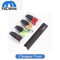 Wholesale Wholesale Pods - Authentic Cloupor Veer Pod Kit Portable E Cigarette Device VS Limitless Pod Myjet Juul V2 Starter Kit 100% Original