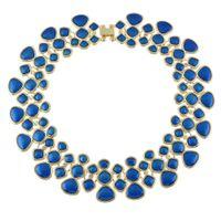Wholesale Gold Choker Bib Collar Necklace - New Fashion Boho Jewelry Statement Necklace Gold Color Alloy Multicolor Enamel Bib Choker Necklace Collar Female