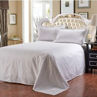Wholesale knitted white cushion covers for sale - Group buy Pillow Case Pure White High Grade Satin Cotton Fabric Cushion Natural Pillowslip Hotel Home Cover Hot Sale fy A R