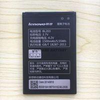 Wholesale Lenovo A278t Battery - New For lenovo BL203 BL-203 A66 A278T A365E A308T A369 A318T A385E Battery Free Shipping