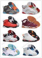 Cheap New Retro 7 VII olimpico Tinker Alternate retros 7s mens Basquete sapatos Calçados de couro High Boots Sports sneakers atacado US 8-13