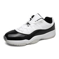 Barato Sapatos De Esporte De Salto Alto Branco-Venda Por Atacado Air Retro 11 Sneakers High Quality Men Black Blue White Basketball Shoes Sport Sneakers Low Heels Training Shoes