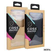 Wholesale Iphone5 Package - 300pcs Universal Mobile phone Case Package PVC transparent plastic Retail Packaging Box for iphone5 6 Samsung Cell phone MP600