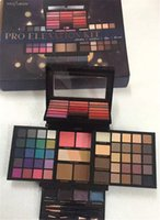 DHL-Versand Profusion Make-up-Sets Pro-Höhen-Kit Creme Lip Gloss Highlither Blush Lidschatten-Palette mit Pinsel