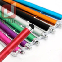 Wholesale samsung new touch phones for sale – best New Universal Aluminum Touch Pen Screen Stylus Long For iPhone For Samsung Huawei etc Tablet Laptps Other Mobile Phones