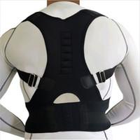 Wholesale Magnetic Products Health - Magnetic Back Support Shoulder Posture Corrector Men Medical Massage Belts Orthopedic Products Health Care