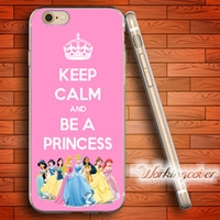 Wholesale Iphone 4s Keep Calm - Coque Keep Calm Princess Soft Clear TPU Case for iPhone 6 6S 7 Plus 5S SE 5 5C 4S 4 Case Silicone Cover.