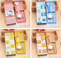 Wholesale Wholesale Chopstick Sets - Creative practical tableware set gift promotions can be shipped with free