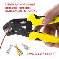 Wholesale Ratchet Terminal Crimp Crimping Tool - Multifunctional Ratchet Crimping Tool 26-16 AWG Terminals Pliers
