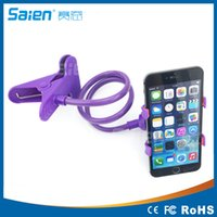 Wholesale Phone Gimbals - Phone gimbals lazy bedside bed car decoration bracket phone holder cellphone holder for iPhone 4 4s 5s 6 6s Plus Samsung S3 S4 Free Shipping