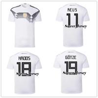 2cd076d3ce4d Soccer Men Short germany jersey 2018 World Cup 5 HUMMELS 8 KROOS 10 OZIL 13  MULLER