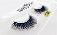Wholesale Natural Look Eyelashes - 2017 False Eyelashes Eyelash natural look handmade Fake Lashes Voluminous Fake Eyelashes For Eye Lashes Makeup shipping Free D011