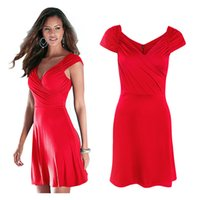 Wholesale Sunmmer Dress - Free shipping dresses for womens sunmmer Dresses Fashion ladies V-neck sexy sleeveless backless mini dress Casual Dresses