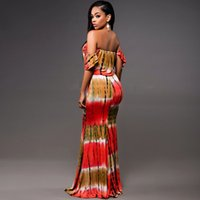 Wholesale Off Shoulder Evening Maxi Dress - made in china guangzhou michun apparel off shoulder summer style casual pencil long maxi dress evening