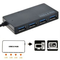 Wholesale Computer Laptop Wholesale Supply - Yaomeng Protable Compact Design 5Gbps USB 3.0 4 Port Hub USB3.0 Splitter Adapter Ultra Speed for Laptop Computer PC High Power Supply