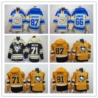 Wholesale Good Penguin - Yellow 2017 Stadium Series Pittsburgh Penguins Hockey Hoodies 87 Sidney Crosby 30 Murray 81 Kessel 71 Malkin 66 Lemieux Good Sweatshirts