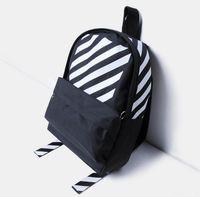 Wholesale Men S Backpack Bags - New Backpack in Europe and America off - white men womem shoulder bag fashion sup children 's brand backpack