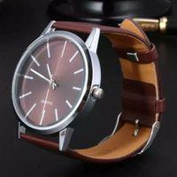 Wholesale Business Classic Wristwatches - 2017 New Arrived Women Fashion Watch Classic business Wristwatches Quartz Clocks Unisex Leather Strap Watches Relogio Feminino