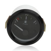 Wholesale Fuel Meter - 2 Inch Universal High Sensitivity New Car Fuel Level Gauge Meter + Fuel Sensor E-1   2-F Pointer CEC_546