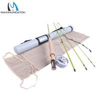 Wholesale Fast Reels - Wholesale- Maximumcatch Fly Fishing Rod & Fly Reel Combo 6.6FT 2wt Medium Fast Fly Rod