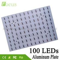 Wholesale Pcb Industrial - 5pcs lot 1W 3W 5W Aluminum Plate 326x228x1.2mm PCB With 1 3 5 Watt Light Beads COB For Floodlight Industrial Grow Light