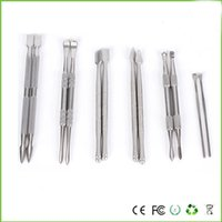 Wholesale Ear Wax Cleaner Tool - High Quality Wax Dab Tool Atomizer Stainless Steel Titanium Nail Clean Tool Dry Herb As Pipe Accessary Or Dab And Ear Tool