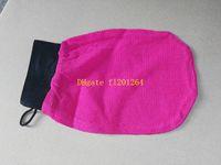 magische handschuhe geben verschiffen frei großhandel-50pcs / lot geben Verschiffen Großhandelshamam scheuern magischen Peelinghandschuh des Handschuhs Marokko Peelinghandschuh
