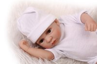"""Wholesale Anatomically Correct Girl Doll - Mini cute doll Beautiful doll Realistic soft Anatomically Correct 10"""" reborn Baby Girl doll good for children"""