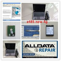 Automotive software alldata v10.53 auto datenreparatur und mitchell on demand 2in1 mit laptop z485 hdd 1tb windows 7