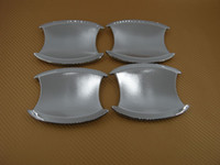Wholesale Honda Crv Chrome - Accessories chromium styling Car Door Handle Shell Cup Bowl Covers Outside Decoration Chrome Fit CRV (2012-2014)