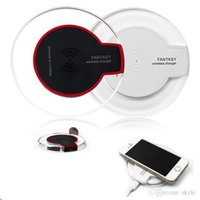 Wholesale Qi Wireless Charger Transmitter Pad - Qi Wireless Charger Transmitter Pad FANTASY qi Charging Mat For Samsung S3 S4 S5 S6 EDGE Qi-abled device With Retial Package