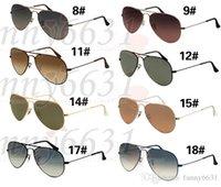 radfahren sonnenbrille verkauf großhandel-HEISSER VERKAUF Sommer GOGGLE Sonnenbrille UV400 Schutz Sonnenbrille Arbeiten Sie Mannfrauen Sonnenbrilleunisexgläser um, die Gläser A ++ freies Verschiffen radfahren