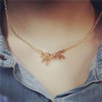 Wholesale fox pendant gold for sale - Group buy Animal fox lover charm necklace gold tone fox necklace bracelet pendant