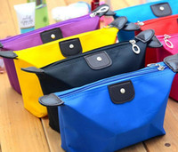 Wholesale Cheap Makeup Bags Cases - Large Capacity Women Cheap Cute Candy Color Makeup Bag, Nylon Material Waterproof Makeup Rrganizer, Makeup Case
