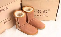 Wholesale Womens Heel Shoes Highest Quality - DORP shipping Free shipping Real Australia Top Quality WGG Women's Classic Short Boots Womens Snow boots Winter leather boot Shoes