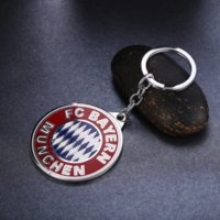 Wholesale club moon - Football Club Key Chain Crown Alloy Metal Key Rings For Women Men Chaveiro Car Keychain Jewelry Key Holder Souvenir