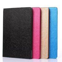 "Wholesale Tablet Stand Folder - Wholesale- Hot Ultra Slim 3 Folder Silk Grain Folio Stand PU Leather Cover Case For Lenovo Tab 2 X30 X30M X30F TB2-X30F A10-30 10.1"" Tablet"