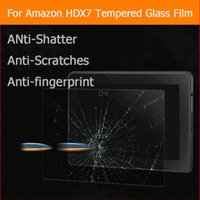Vente en gros - Film de verre trempé anti-éclatement Premium Pour Amazon Kindle Fire HDX 7 HDX7 7,0