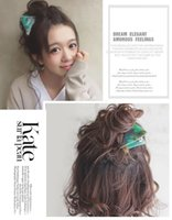 Wholesale Hair Clips Wholesalers Japan - 2017 quality new hairpin hair ornaments triangular metal teeth Japan acetic acid plate ink ink emerald caught folder