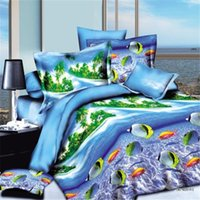 Wholesale 3D Bedding Sets Beautiful Flowers Fashion Creative d Beddings Printing Bed Sheets Quilts DHL